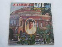 LATA MANGESHKAR LIVE  2 LP Record Bollywood India-1029