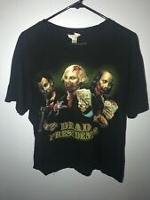 Vintage Dead Presidents Zombie Band Rock Graphic T-Shirt Size Men X-Large Xl