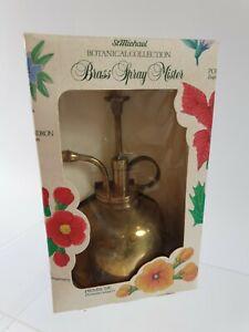 St Michael Botanical Collection Brass Spray Mister
