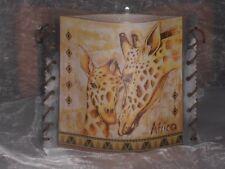 Tischlicht/Windlicht Giraffe-Afrika
