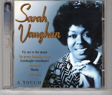(HG585) Sarah Vaughan, A Touch Of Class - 1997 CD