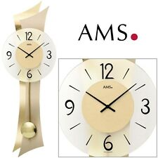 AMS 7427 quarzo dell'orologio di parete con pendente orologio al salotto A