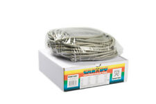 CanDo Low Powder Exercise Tubing-100ft dispenser roll-Silver-xx-heavy-1324644