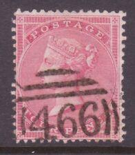 SG66  4d Rose no corner letters 466 Liverpool Pmk  Catalogued  £120