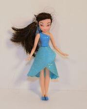 "Silvermist 4"" Water Fairy 2008 Figure Doll Disney Tinker Bell Fairies Playmates"