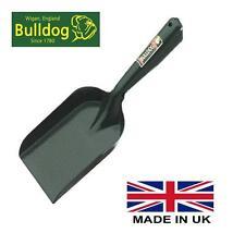 "Extra Strong Coal Hand Shovel Bulldog Household 4"" Fireplace Stove Ash All Metal"