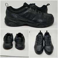 New Balance Tripple Black Leather Cross Walking Running Trainer Shoes Mens Sz 13