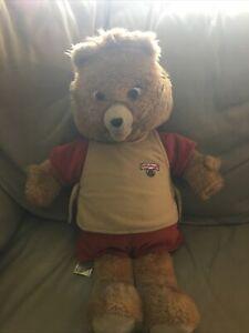 Teddy Ruxpin Doll Retro Vintage 1985 Bear Collectible