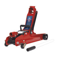 Sealey Trolley Jack 2tonne Low Entry Short Chassis - 1020LE