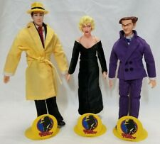 Dick Tracy Dolls Set of 3 Flattop Breathless Mahoney Madonna Applause