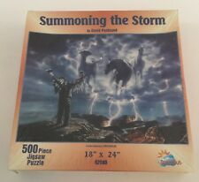 """New/Sealed """"Summoning The Storm"""" 500 Pc Jigsaw by Suns Out"""