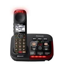 Panasonic Amplified Cordless w/ Bluetooth Amplified Voice Black KX-TGM430B