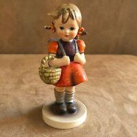 School Girl Hummel Goebel Figurine 81 bee W Germany vintage 7 0 bee