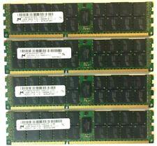 New ListingMicron 64Gb 4x16Gb 1333Mhz Ecc Ddr3 1.35V Server Ram Mt36Ksf2G72Pz-1G4D1Ff Dell