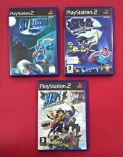 Triología Sly Raccoon, Sly 2, Sly 3, PLAYSTATION 2 - PS2 - USADO MUY BUEN ESTADO