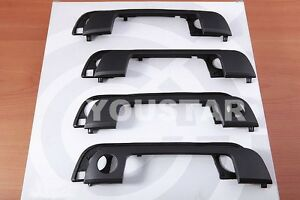 NEW 4x sets Front + Rear Exterior Door Handle + Gaskets for BMW 3 5 Seri E36 E34