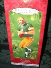 Hallmark Brett Favre Football Legends #7 2001 NRFB