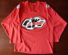 Quebec Remparts LHJMQ CCM Jersey Autographed by Tan and Fucale