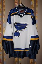 VINTAGE ST. LOUIS BLUES PRO PLAYER JERSEY SHIRT MEN'S SIZE X Large NHL