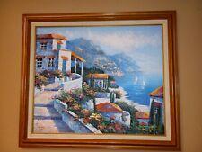 K. Wallis Original Oil Painting Framed