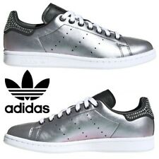 Adidas Originals Stan Smith Sneakers Women's Casual Shoes Running Walking Silver