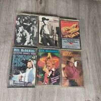 Lot (6) Cassette Tapes Country Southern Rock