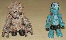 Pack deux figurines Hellboy Abe Sapien & Sammael 2004 Mezco