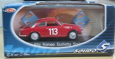 Solido sixties 1/43 4579 Alfa romeo guilietta sprint 1957 TBE en boite