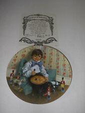 """Mother Goose """"Little Jack Horner"""" Plate John McClelland"""