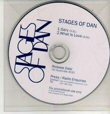 (CM758) Stages Of Dan, Gary - 2010 DJ CD