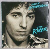 "BRUCE SPRINGSTEEN 1980 The River 12"" Vinyl 33 Dbl LP JERSEY SHORE ROCK Columbia"