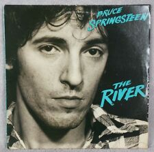 "BRUCE SPRINGSTEEN 1980 The River 12"" Vinyl 33 Dbl LP JERSEY SHORE ROCK VG"