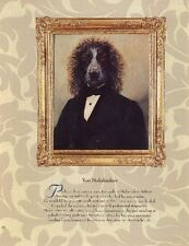 * Wirehaired Pointing Griffon - Vintage Dog Art Print