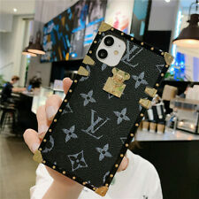 Phone Case For iPhone 11 Pro Max XR 8 7 Back Slim Luxury Square Shockproof Cover