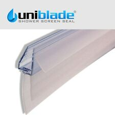 Uniblade Universal Bath/Shower Screen Seal For Straight or Curved 4-10mm Glass
