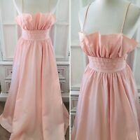 VTG Gunne Sax Dress XS/S *As Is* Pink Ball Gown Cottage Core Jessica McClintock