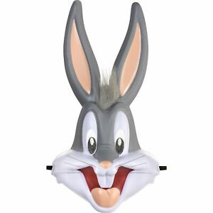 Amscan Oversized Bugs Bunny Mask for Adults, Halloween Costume Accessories,