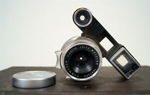 Vintage 1959 Leica Leitz Wetzlar Summaron 35mm f2.8 Lens with Goggles s/n1662202