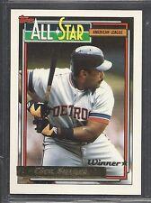 1992 Topps Baseball - Gold Winner - #397 - Cecil Fielder - Detroit Tigers