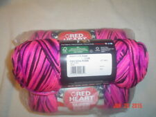 """/""""Red Heart Super Saver Yarn-Melonberry Set Of 3/"""""""