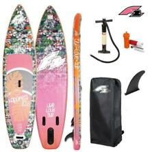 "F2 HAPPINESS 10'6""SUP Board Stand Up Paddle Surf-Board aufblasbar ISUP 320cm"