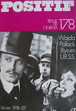 WAJDA POLLACK BYRUM U.R.S.S. POSITIF REVUE DE CINEMA No 178 de Février 1976