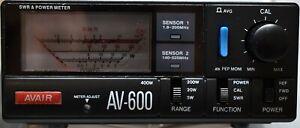 AVAIR AV-600 SWR/RF Power Meter - Free Delivery.