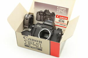 [✨ UNUSED in BOX ] Canon NEW F-1 AE Finder 35mm SLR Camera Body From JAPAN #0041