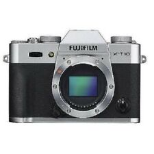 USED Fujifilm X-T10 16.3 MP Digital Camera Body Silver Excellent FREE SHIPPING