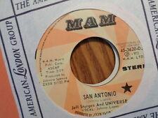 PROMO MAM 7' 45 RECORD/JEFF STURGES UNIVERSE/SAN ANTONIO/1972 ROCK FUNK PROG