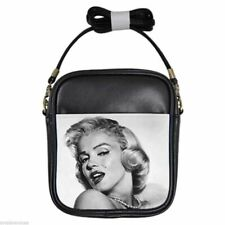 MARILYN MONROE ME AND MY MINK Leather Sling Bag Small Purse