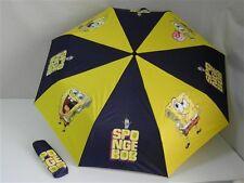 Ombrello Ombrellino pioggia bambini SPONGEBOB Blu scuro con stampe T586