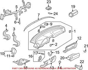 Genuine OEM Ignition Lock Escutcheon for Mercedes 20868004657C45
