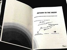 HARRISON SCHMITT APOLLO 17 ASTRONAUT SIGNED AUTO RETURN TO THE MOON BOOK JSA